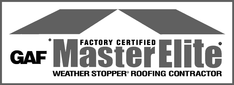GAF Master Elite Certified Roofing Contractor Badge