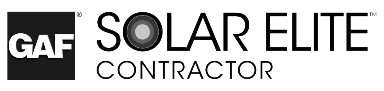 GAF Certified Solar Elite Contractor Badge