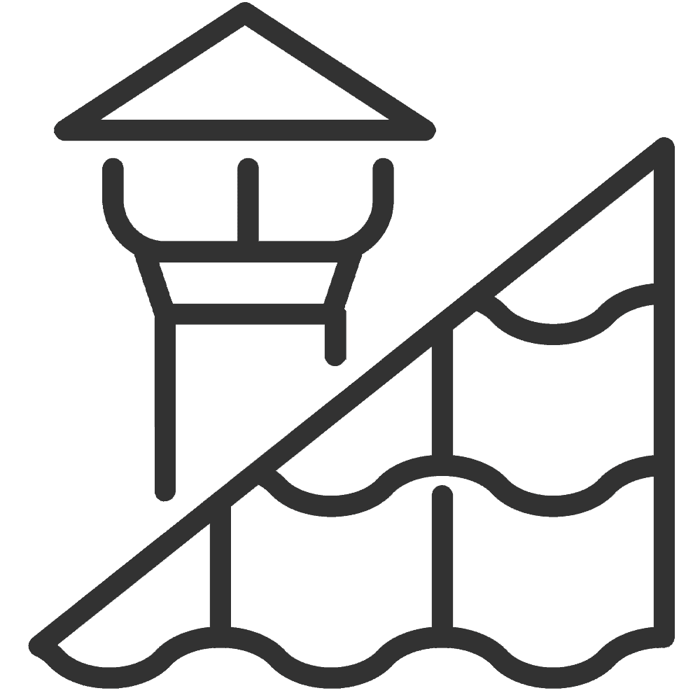 roof repair and installation icon